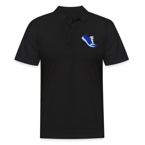 Laufschuh - Männer Poloshirt