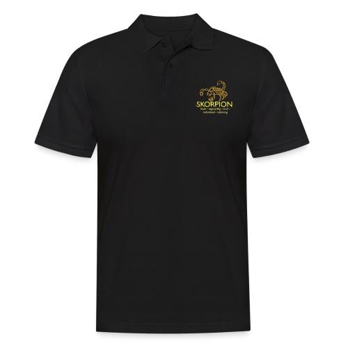 skorpion Hbraun - Männer Poloshirt