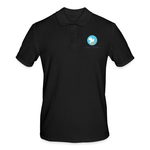 Peace is Possible - Men's Polo Shirt