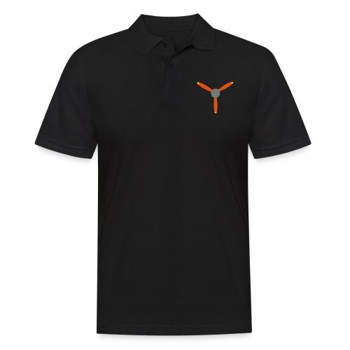 3 blade propeller - Men's Polo Shirt