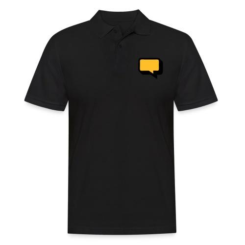 Sprechblase 3D 2c - Männer Poloshirt