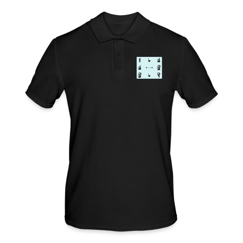 How to squat - Men's Polo Shirt