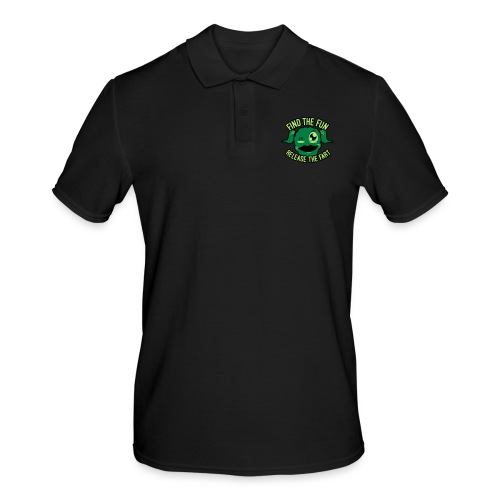 #GirlsOnly: Find The Fun - Release the Fart - Herre poloshirt