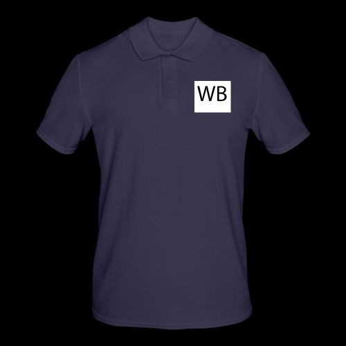 WB Logo - Männer Poloshirt