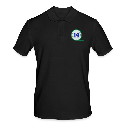 D14 Alt Logo - Men's Polo Shirt