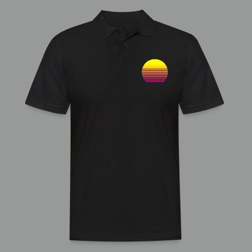 80s Sun - Männer Poloshirt