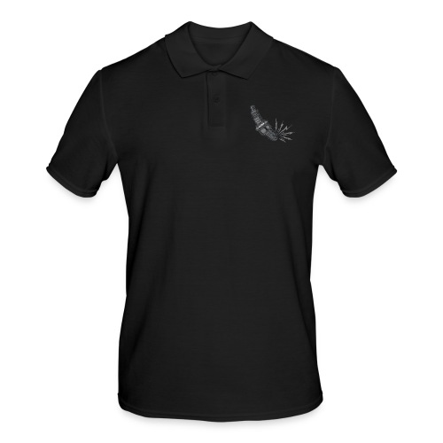 Fehlzünder Kontrast-Pullover - Männer Poloshirt