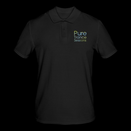 PureTrance100 transparantGROOT kopie png - Men's Polo Shirt