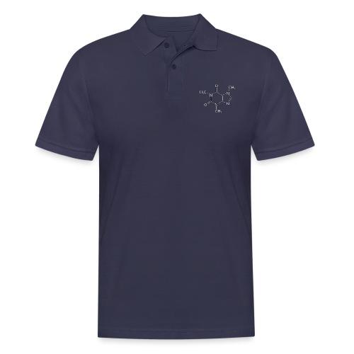 Koffein.png - Männer Poloshirt