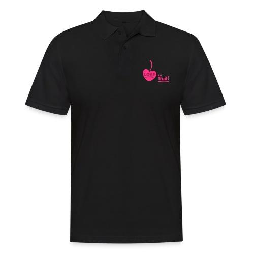love_is_a_fruit_2c_225x225 - Männer Poloshirt