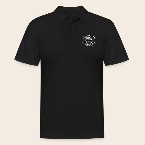 ich steh auf möpse - Männer Poloshirt