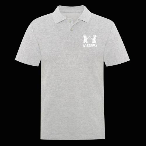 fka team logo white - Miesten pikeepaita