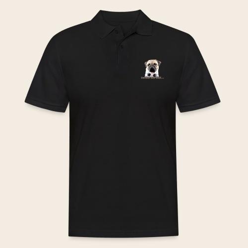 Mops am Ball 2 - Männer Poloshirt