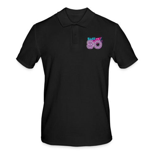 back to the 80 - Men's Polo Shirt