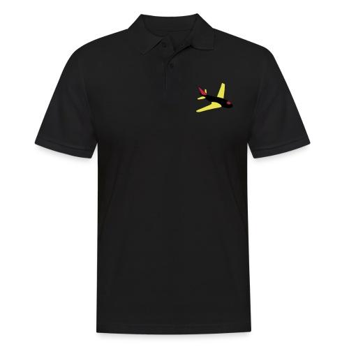 airplanes jet sky freedom aircraft flying glider - Männer Poloshirt
