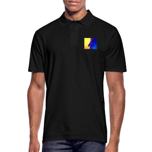 Hütti ohne Schrift (einseitig) - Männer Poloshirt