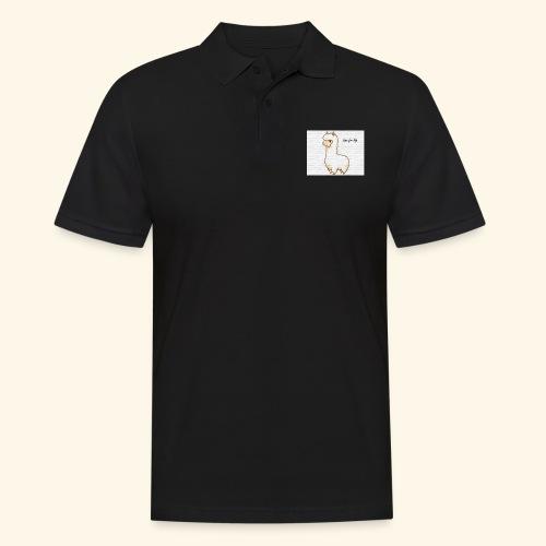 lama / alpaca - Männer Poloshirt