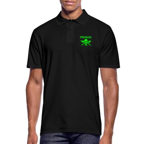 Predator fishing green - Männer Poloshirt