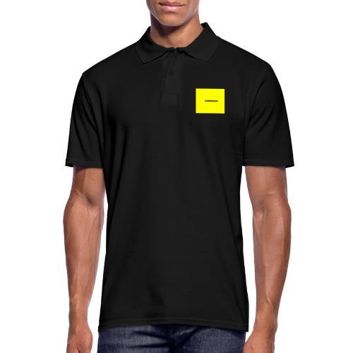 Sonnenpunkt schriftart - Männer Poloshirt