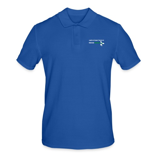Understand Nature! And think Green. - Men's Polo Shirt