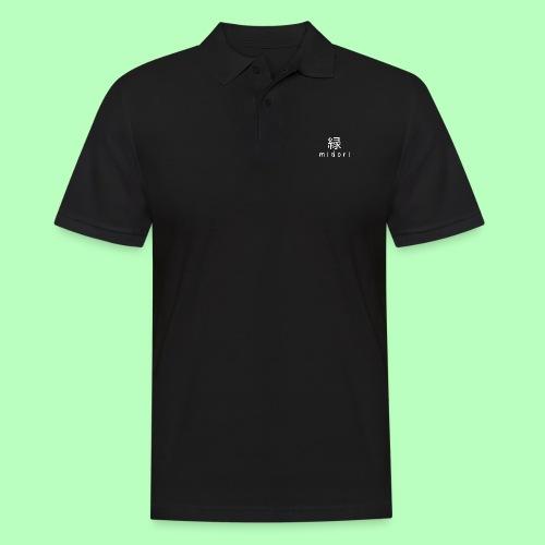 midorii japan - white - Men's Polo Shirt