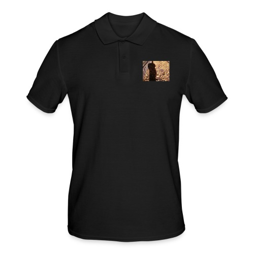 THE GREEN MAN IS MADE OF AUTUMN LEAVES - Men's Polo Shirt