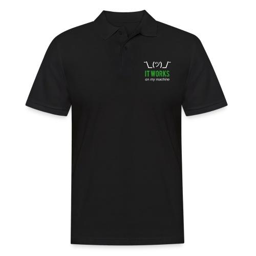 It works on my machine Funny Developer Design - Men's Polo Shirt