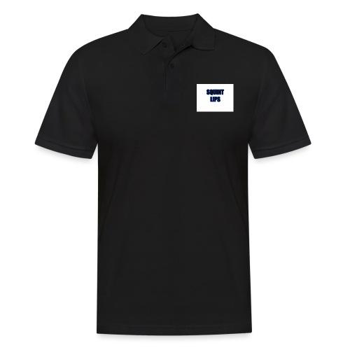 Squint Lips Merch - Men's Polo Shirt