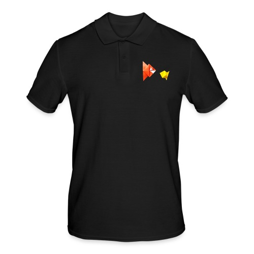 Origami Piranha and Fish - Fish - Pesce - Peixe - Men's Polo Shirt
