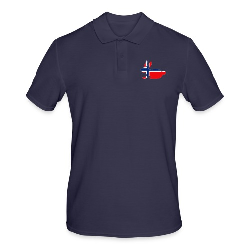 bunny logo - Men's Polo Shirt