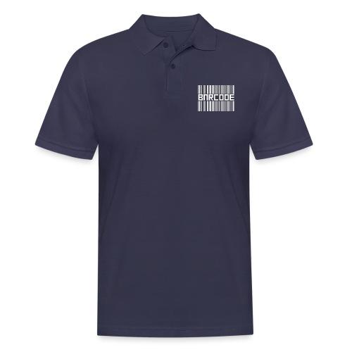 BARCODE BLACK - Men's Polo Shirt