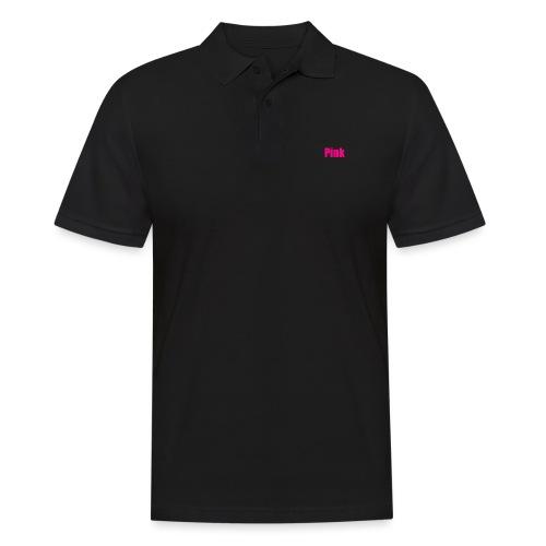 pink - Männer Poloshirt