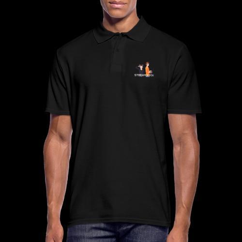 Unsere Logo - Männer Poloshirt