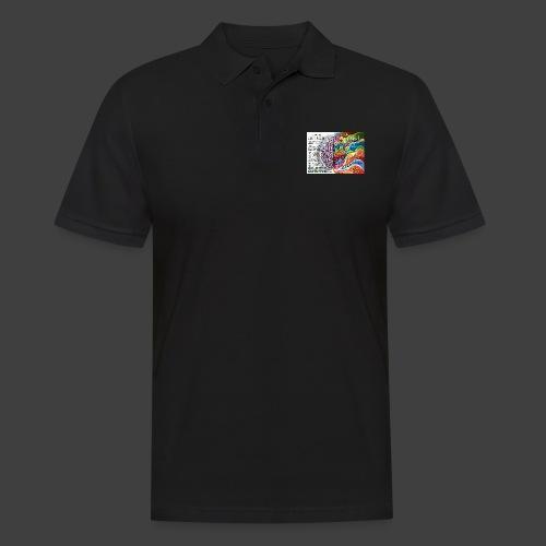 Brain LR - Men's Polo Shirt