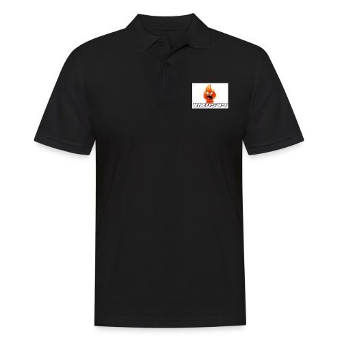 Virusv9 Weiss - Männer Poloshirt