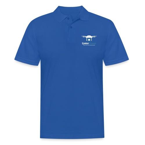 ListerDrone logo - Poloskjorte for menn