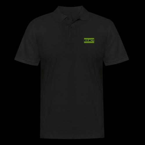 Exact Classic Green Logo - Men's Polo Shirt
