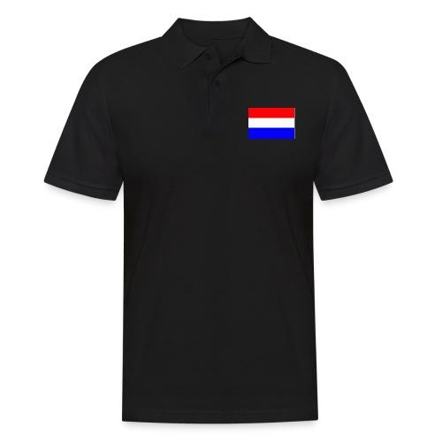 vlag nl - Mannen poloshirt