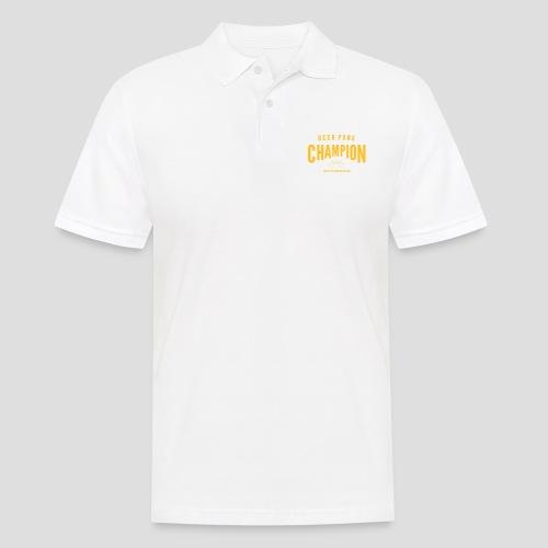 Beerpong Champion T-Shirt - Männer Poloshirt