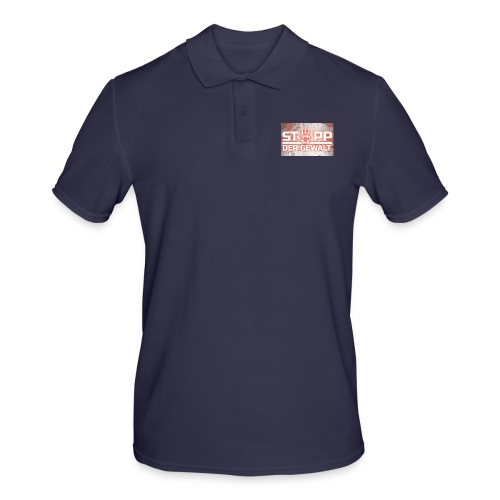 STOPP DER GEWALT - Men's Polo Shirt