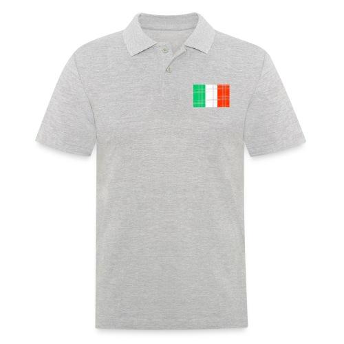italian flag - Polo da uomo