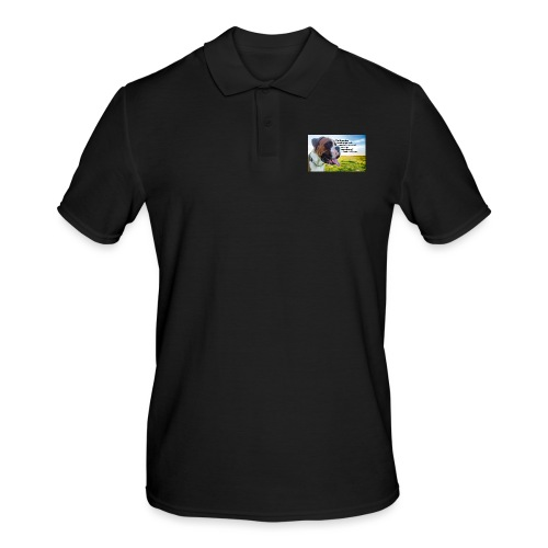 Until one has loved an animal - Men's Polo Shirt
