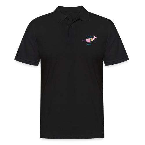 Narwal Einhorn - Männer Poloshirt