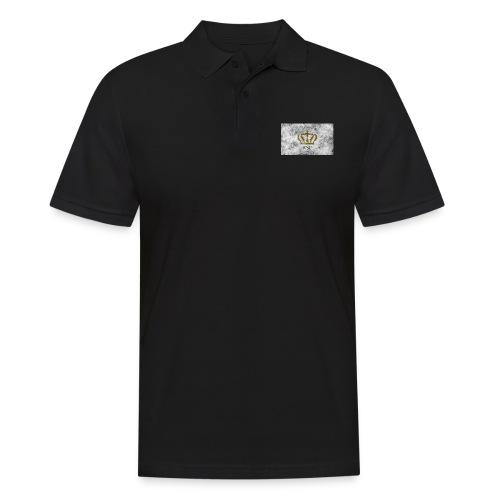 Dusty Crown logo - Männer Poloshirt