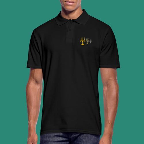 edles Kerzenlicht - Männer Poloshirt