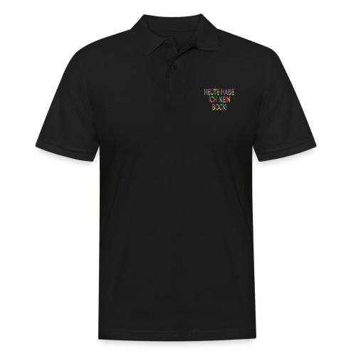 Keinen Bock! - Männer Poloshirt