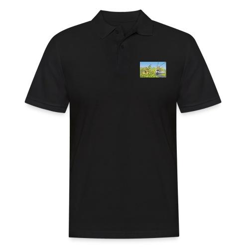 Raupe und Zug - Männer Poloshirt
