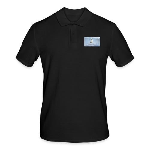 Buddha with the sky 3154857 - Men's Polo Shirt