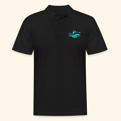 Mehr Schildis gibt es nur im Meer :) - Männer Poloshirt