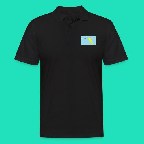 Piorunowe Na Telefon 5s - Koszulka polo męska